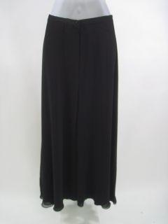 you are bidding on flora nikrooz black full length long skirt