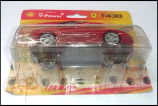 Ferrari F430 1 38 Scale Diecast Model Toy Car Red Shell V Power