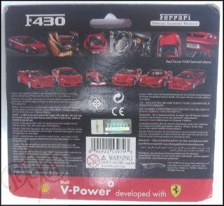 Ferrari F430 1 38 Scale Diecast Model Toy Car Red Shell V Power