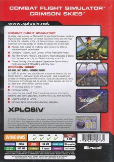 games in one box crimson skies microsoft combat flight simulator