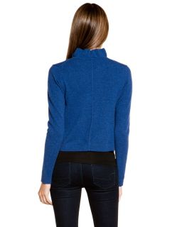forte nightshade cashmere ruffle crop cardigan $ 242 00 $