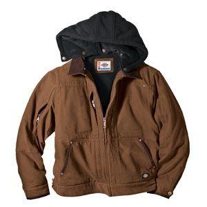 Dickies Jackets Dickies TJ547 Sanded Duck Hooded Jackets