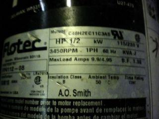 HP Shallow Well Cast Iron Jet Pump C48H2EC11C3A5 Water Pumps