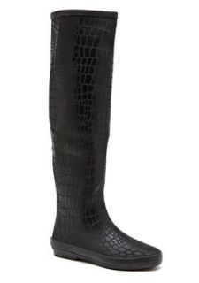 NIB Henry Ferrera New York Black Australia Size 6 Rain Boot Rainboot