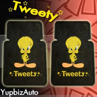 Tweety Bird Car Seat Covers Mats Steering Wheel Cover