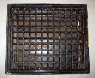 Antique Floor Register Grate Furnace Cold Air Return Vent