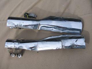 1985 1986 Honda Shadow 1100 Heat Shield Exhaust Covers