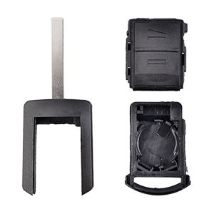 Botón key Carcasa del mando para llave de coche Vauxhall Opel
