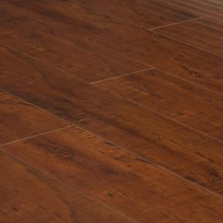 Hand Scraped Cordovan Laminate Hardwood Flooring Wood Floor