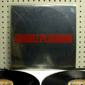 KISS Double Platinum (1978) Vinyl 2 LP Set ~ VG+ ~ NBLP 7100 2 WLP