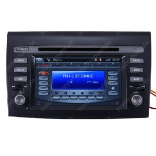 Double DIN TFT TV DVD Player Radio for 07 11 Fiat Bravo Brava