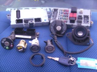 Fiat Punto MK2 MK3 1 2 8V Lock Set with ECU and Key