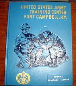 US Army Training Center Fort Campbell Ky Year Book Co B 3rd Battalion