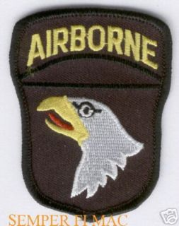 Screaming Eagles US Army Patch Fort Campbell Paratrooper