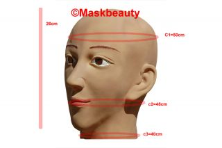 Sexy Halloween Disguise Foam Latex Full Head Female Maskbeauty Mask