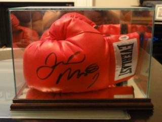 Floyd MAYWEATHER Jr Signed Glove PSA DNA w Display Case
