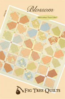 Fig Tree Quilts Blossom Quilt Fabric Pattern