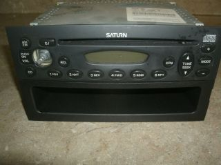 00 03 Saturn SL1 SL2 ion Vue CD Radio