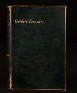 1890 The Golden Treasury of The Best Songs and Lyrical Poems Palgrave