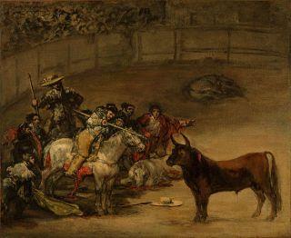 Francisco GOYA   Bullfight Matador Bull OLD Masters Spanish not
