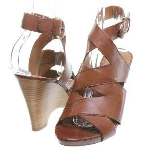 brand franco sarto franco sarto naomi wedge sandal saddle size 9 5