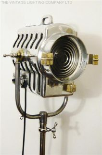 1930S FILM STUDIO FLOOR LAMP LOFT INDUSTRIAL LIGHT ART DECO ANTIQUE