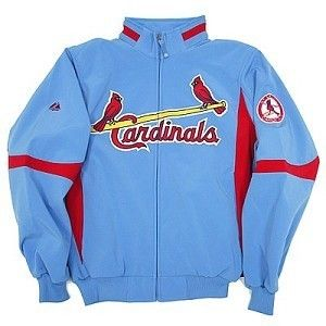 St Louis Cardinals MLB Cooperstown Therma Base Premier Jacket by