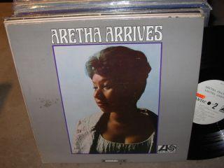 Aretha Franklin Arrives R B Soul White Label Promo