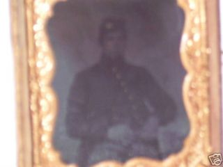 Tintype Picture of A Civil War Soldier 820