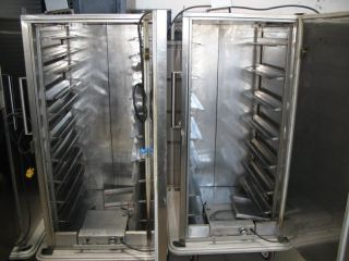 Carter Hoffman Stainless Meal Food Service Warm Hot Carts Warmers FS9