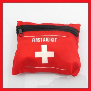 Emergency First Aid Kit Suit Travel Camping Biking New