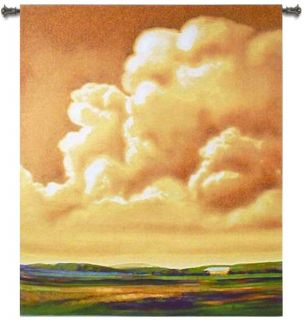 First Light Landscape Country Art Tapestry Wall Hanging