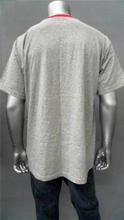 Foot Locker Mens XL Gray Comfort Basic T Shirt Tee Short Sleeve Solid