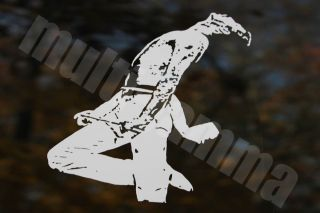 Freddie Mercury 2 Queen Decal Sticker Car Window Guitar Laptop Best