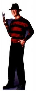 Brand new lifesize (64 tall) standup of FREDDY KRUEGER . Can be