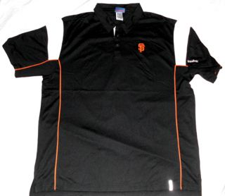 San Francisco Giants Victory Polo Shirt XL Reebok MLB
