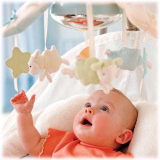Fisher Price Baby My Little Lamb Cradle Swing Papasan