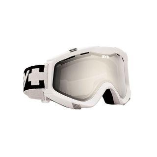 ZED White Bronze w Silver Mirror Persimmon Snowboard Ski Goggle