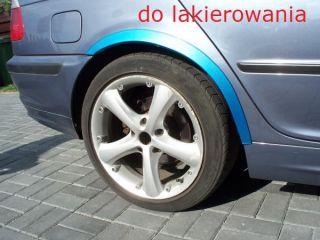 Ford Puma Wheel Arches Fender Trim Wheel Arch Tuning Chrome Black Matt