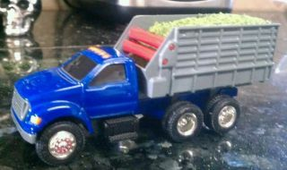 64 CUSTOM MADE SILAGE. TRUCK GRAIN FEED ERTL FORD F650 F750