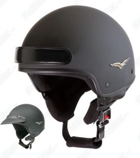 Caberg Freedom Motorcycle Helmet Matt Black Medium New