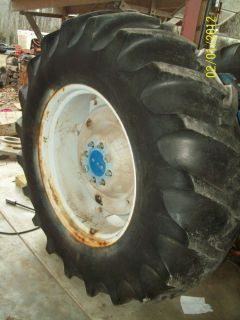 Ford 5000 Tractor Rear Tire 18 4 x 30 6 ply BF Goodrich Tire A