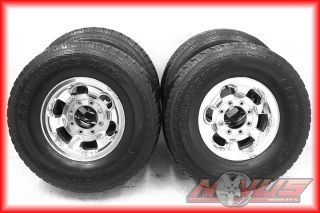 16 FORD F250 F350 EXCURSION OEM WHEELS TIRES 17
