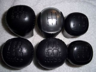 6 PC Set Ford Mustang Shift Knobs
