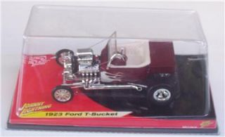 1923 Blown Ford T Bucket 1 18 Johnny Lightning 2 Diecast Car Hot Rod