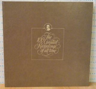 Franklin Mint 100 Greatest Recordings 5 6 2LP Mint