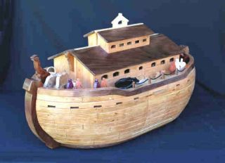 Noahs Ark Animals Woodworking Plans by Forrest Street Designs