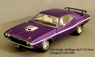 Franklin MInt 1970 Dodge Challenger R/T 426 Hemi MIB!!