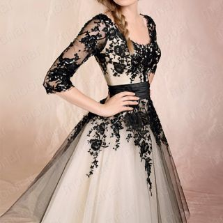 Elegant Lady Wedding Bridesmaid Formal Prom Ball Gowns Cocktail Dress