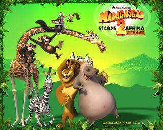 Madagascar Escape 2 Africa Game Nintendo DS 2008 NTSC Game Canada USA